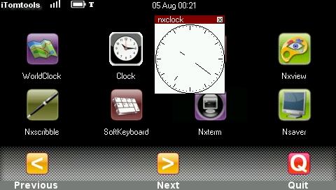 Clock, la montre à aiguilles